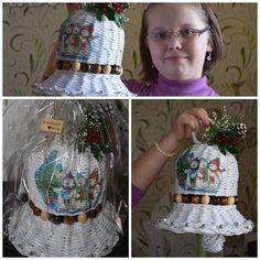 Vianočný papierový zvonček:) Autorka: ludka79 / Artmama.sk