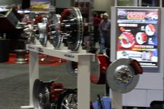 There were stock wheel brakes to find at the 2012 PRI.