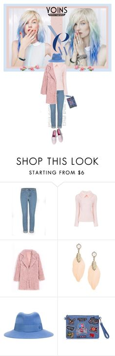 """""""Life is simply good"""" by kriz-nambikatt ❤ liked on Polyvore featuring Maison Michel, Keds, women's clothing, women's fashion, women, female, woman, misses, juniors and yoins"""