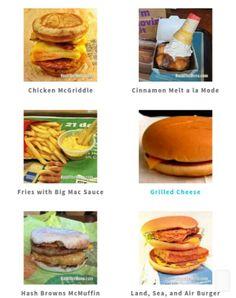 McDonald secret menu