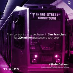 Thales wins a million train control contract in San Francisco