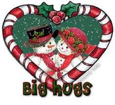 Kindergarten: Holding Hands and Sticking Together: Candy Cane Fun! Snowmen Pictures, Christmas Pictures, Love Hug Images, Snowman Quotes, Merry Christmas To All, Christmas Things, Christmas Treats, Xmas, Big Hugs