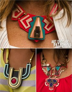 My style... Statement necklace