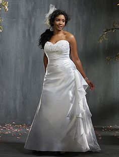 Style 2295 Bridal Gowns - Wedding Gowns - Plus Size Bridal | Wedding Gowns Full Figure Bras Crinolines