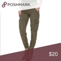 Lucky | Green Ankle Pants Super cute army green joggers. Good condition. Will post more pictures soon! Lucky Brand Pants