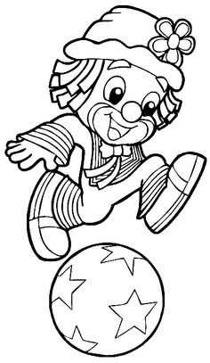 Zoo Coloring Pages, Pattern Coloring Pages, Coloring Pages For Kids, Coloring Sheets, Coloring Books, Clown Crafts, Circus Crafts, Summer Camp Crafts, Camping Crafts