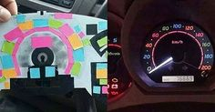 This Is One Brilliantly Colorful Car Hack.