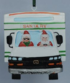 RV Christmas Ornament Check out hartranchresort.com for the latest in RV camping fun!