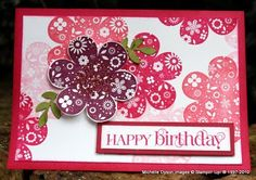 StampInkPaper: Happy Birthday cards for kids with Printed Petals