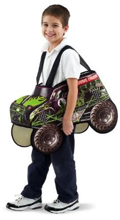 Monster Jam Truck Child Costume Size One-Size : Toys & Games : Amazon.com