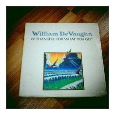 Weekend #vinyl haul (3/4): William Devaughn - Be Thankful For What You Got [still sealed, and yet the cover is torn] #gangstalean