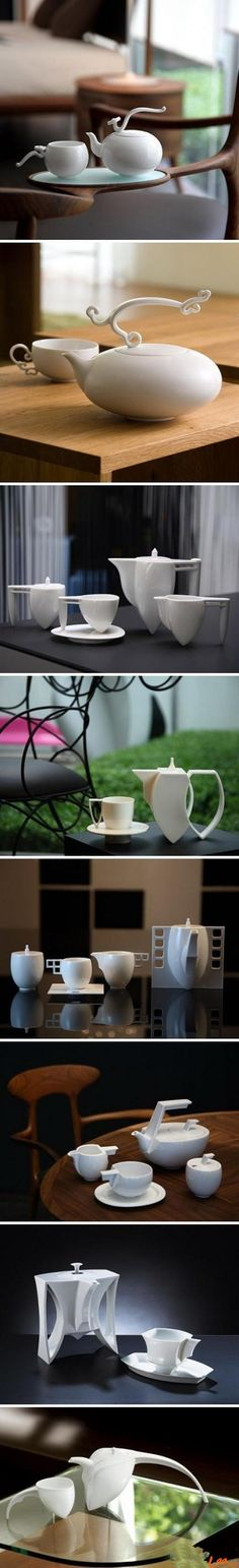 Chinese tea et design, by Heinrich Wang