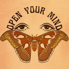 Image result for open your mind butterfly eyes art print