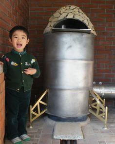 Rocket Mass Heater   from  京都