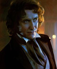 Nice artwork of Eighth Doctor by LicieOIC.deviantart.com on @deviantART. Very talented.