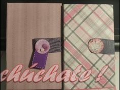 Tutorial scrapbooking cartera de viaje. Travelling wallet scrap tutorial