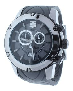 Technosport TS-750-4 Men's Gray Sports Swiss Chronograph Watch Rubber Strap