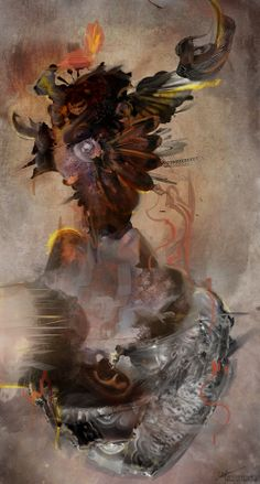 Dorsalgia Series : Digital Artworks & Illustrations on Behance