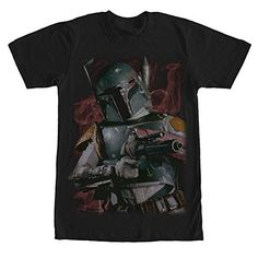 Star Wars Boba Fett Bounty Hunter Smoke Mens Graphic T Shirt -- Check out this great product.