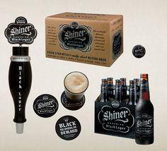 Shiner Black packaging // americana styling