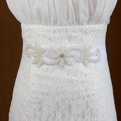 Hot Fashion Bridal Sashes Beaded Wedding Belts Pearls Crystal Handmade Top Quality Marrysa Bridal Accessories from Marrysa,$12.57 | DHgate.com
