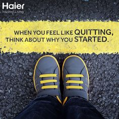 Here's your dose of #WednesdayWisdom from Haier!