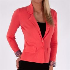 Evolution by Cyrus Sweater Blazer. Perfect and comfy for work
