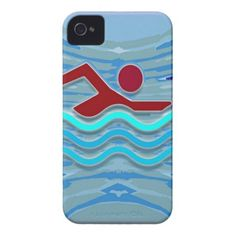 Swim Club Swimmer Exercise Fitness NVN254 Swimming iPhone 4 Cover