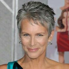 Jamie lee curtis short hair