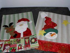 Panos de Prato de Natal | Teteca Bonecas | Elo7