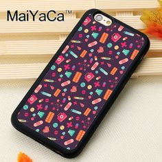 >> Click to Buy << Medical Syringes Heart Stethoscope Nurse Soft TPU Skin Phone Cases For iPhone 6 6S Plus 7 7 Plus 5 5S 5C SE 4S Back Cover Shell #Affiliate