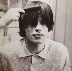 Mick's hair