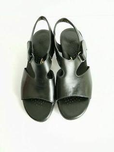 Black Leather Sandals, Baby Shoes, Joy, Women, Fashion, Moda, Fashion Styles, Baby Boy Shoes, Glee