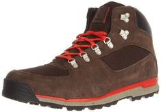 7ab3ec6a6a Timberland Men's GT Scramble Mid Hiking Boot,Dark Brown/Orange,7.5 M US