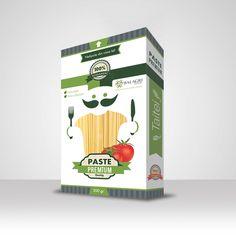 Pasta package design by Visual Edge Package Design, Packaging, Pasta, Drinks, Food, Drinking, Beverages, Meal, Packaging Design