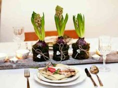 uen composition florale très originale