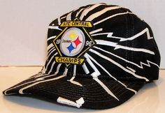 Pittsburgh Steelers 1996 AFC Central Champs NFL Football Vintage Starter Brand Shockwave Snapback Hat Cap by VintageStockJax on Etsy Pittsburgh Steelers, Nfl Shirts, Hats For Sale, Snapback Hats, Football Team, Champs, Nhl, Old School, Handmade Gifts