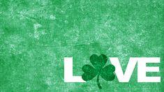 Irish Love desktop wallpaper for St. Patrick's Day