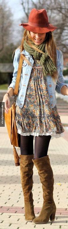 Dieses Outfit bringt dich absolut umwerfend durch den Herbst!