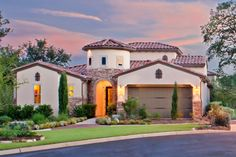 A Mediteranean-inspired Sitterle model home. Call Me for a Tour! CASSIE GONZALEZ, REALTOR® (210) 459-0980