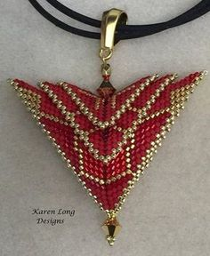 The Phoenix Pendant... Deco for the Holidays
