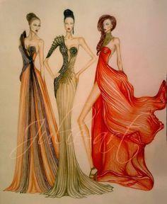fashion design sketch