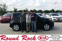 Congratulations to Victoria Lovegren on your #Kia #Soul purchase from Roberto Nieto at Round Rock Kia! #NewCar