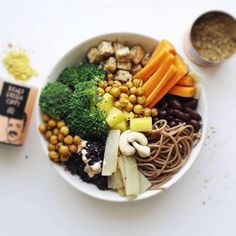 Don't know what your craving? 🤔 Or feeling the urge to get as much vitamins in as possible because your feeling the first symptoms of a cold?⚡️ than this VEGAN-EVERYTHING-BOWL is what you need:⠀ Brokkoli, Carrots, Tofu, Kidney Beans, Black Rice, Chickpeas, Cashews and Bamboo.🌱💥 📸@lenacjg ⠀ ⠀ #justspices #veggiebowl #vitamins #nutrition #plantbased #wholefoods #vegan #healthy #tofu #chickpeacurry #broccoli #healthyrecipes #whatveganseat #protein #fitnessfood #veganrecipes #eatclean…