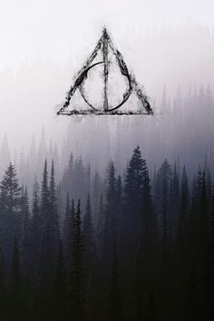 Deathly Hallows cellphone wallpaper background lock screen iPhone cellphone android, the resurrection stone, the elder wand, the cloak of invisibility, Harry Potter, JK Rowling, Hogwarts
