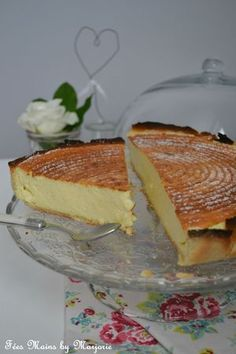 Tarte au fromage blanc a tester