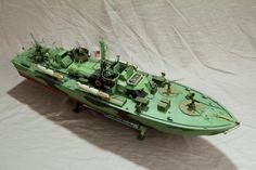 Italeri 1/35 scale PT boat by Rick Modelers Social Club Forum