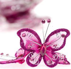 Fuchsia Butterflies