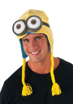 Other recommended Rubie's Costume Co Men's Minion Laplander Hat, Multi, One Size for Halloween Gifts Idea Stores for Gifts Idea Shopping Minion Theme, Minion Hats, Minion Costumes, Minion Movie, Minions Despicable Me, My Minion, Movie Costumes, Cool Costumes, Adult Costumes