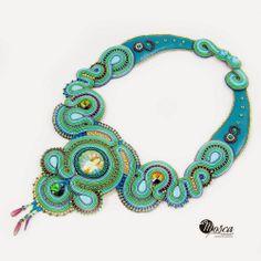 Soutache necklace - Lorelei